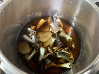 サバっ子の味噌煮のレシピ