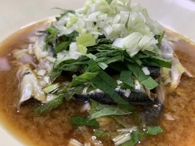 サバっ子の味噌煮