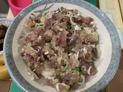 ウルメイワシのタタキ丼