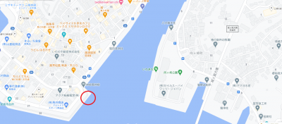 釣り船の乗船場所