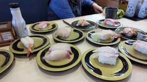 5/8 母の日の会食 はま寿司