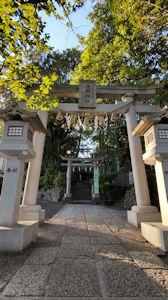 5/6 多摩川沿いの浅間神社 鳥居