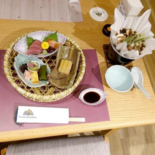 フォレストかみきた 夕食 (3)