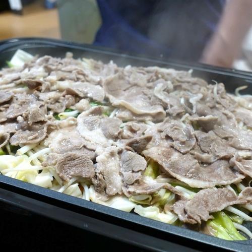 ふるさと納税2021 北海道美唄市 ラムロール肉スライス2000g (16)