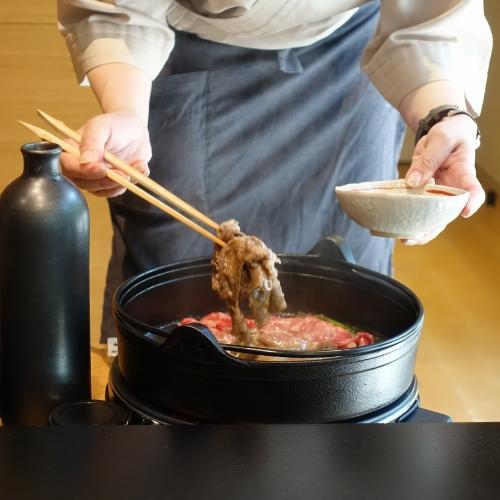 きつね すき焼き ランチコース (50)