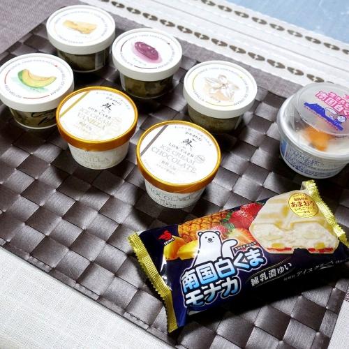 ローカーボキッチン然 低糖質アイスクリーム トリドリベース (20)