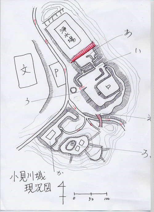 20210505小見川城縄張り図