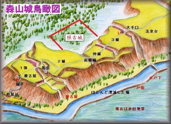 20210505森山城縄張り図