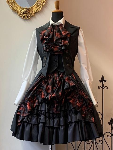 9224黒赤バラ-7