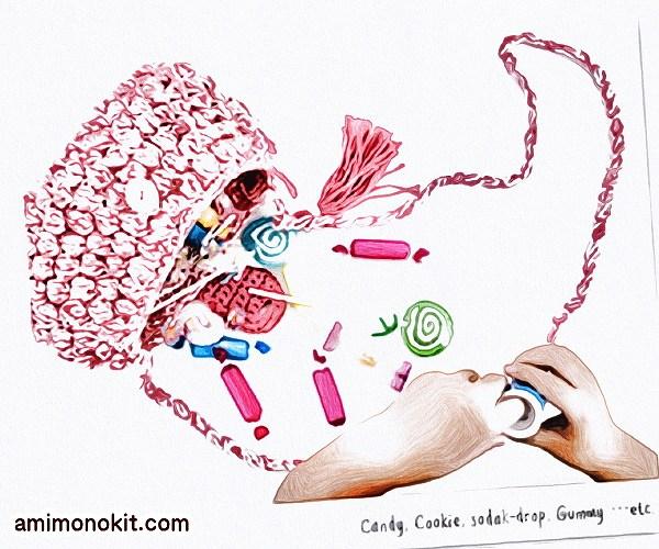 無料編み図Free Crochet Patternキッズポシェットかぎ針編み肩掛け3