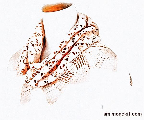 無料編み図Free Crochet Patternストールモチーフ編みかぎ針1