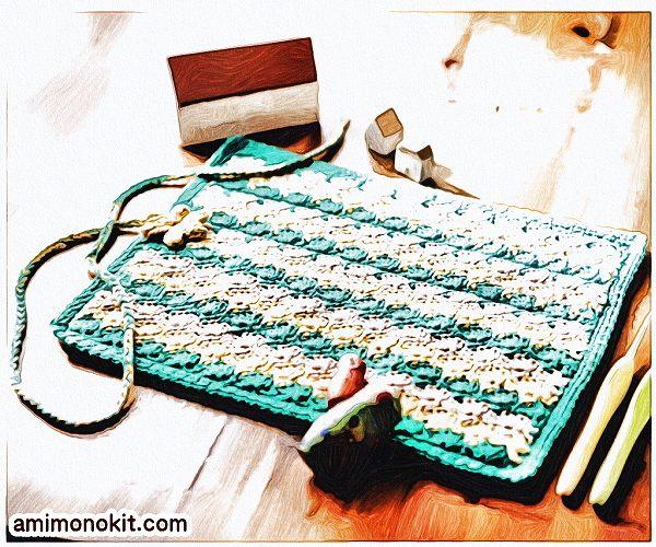 無料編み図Free Crochet Patternかぎ針ケースかぎ針編み編み物小物便利3
