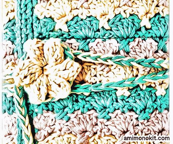 無料編み図Free Crochet Patternかぎ針ケースかぎ針編み編み物小物便利4