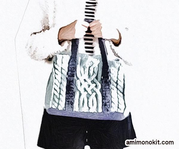 無料編み図Free Knitting Patternバッグ棒針編みアラン模様冬バッグ2