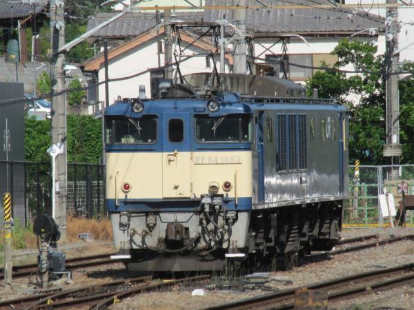 EF64形電気機関車(甲府駅)