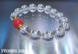 インカローズ12mm極上水晶12mmx14No2-3