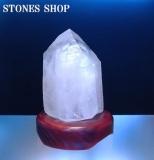 水晶ポイントランプNo1-1