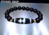 西蔵天珠 宝瓶天然黒水晶10mmBR