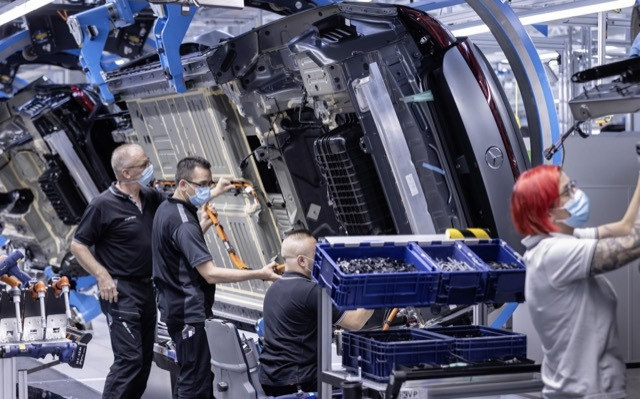 EQS生産開始2 2021-5-12