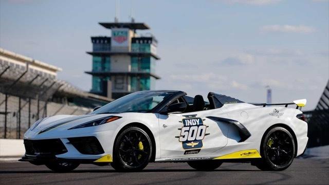 シボレーコルベットスティングレイインディ500ペースカー3 2021-5-13