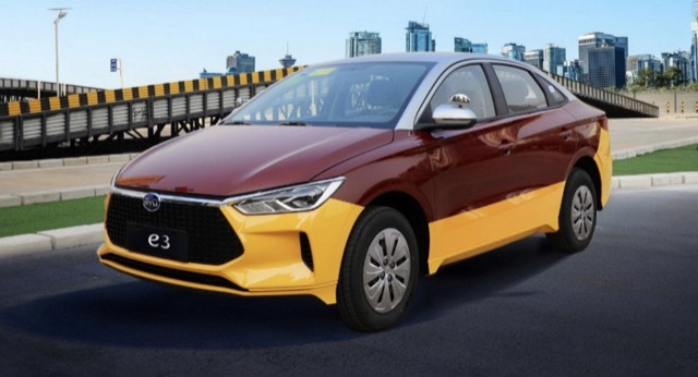 中国BYD EV MT1 2021-5-16