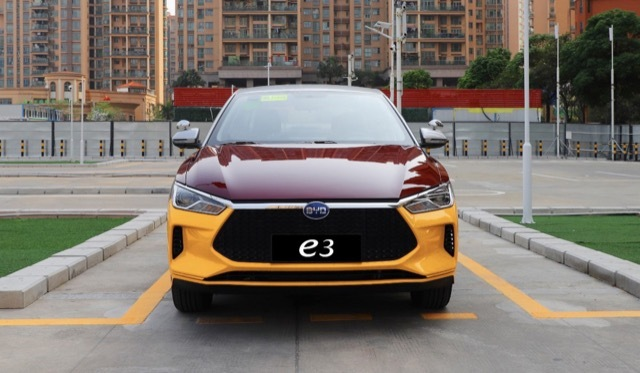 中国BYD EV MT4 2021-5-16