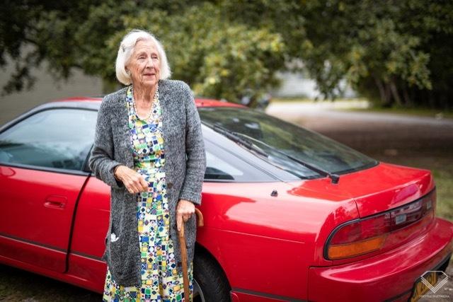 89歳のおばあちゃん日産200SX1 2021-5-16