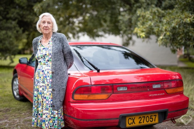 89歳のおばあちゃん日産200SX7 2021-5-16