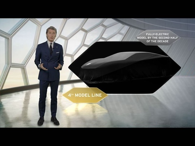 ランボルギーニ第4のモデル1 2021-5-18