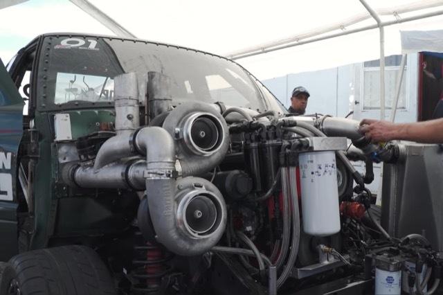 3000馬力ディーゼルトラック爆破2 2021-5-25