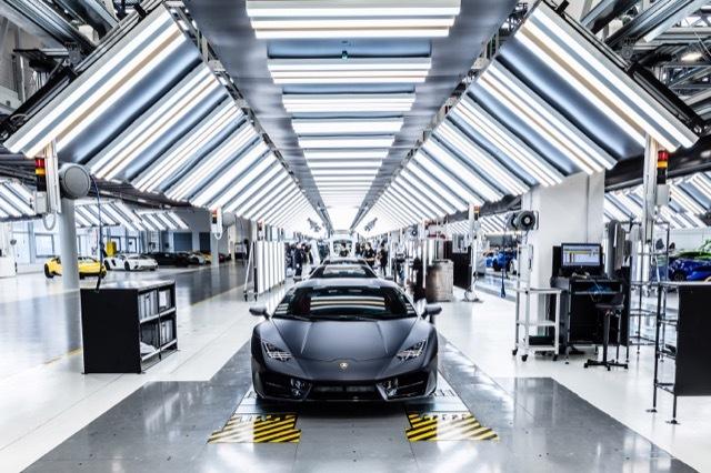 ランボルギーニ工場2 2021-5-26