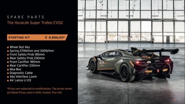 ウラカンスーパートロフェオEVO2カタログ9