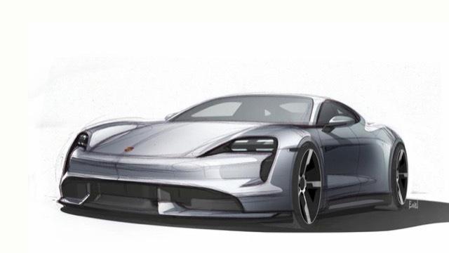 Porsche-Taycan-exterior-sketch-1 2021-6-2