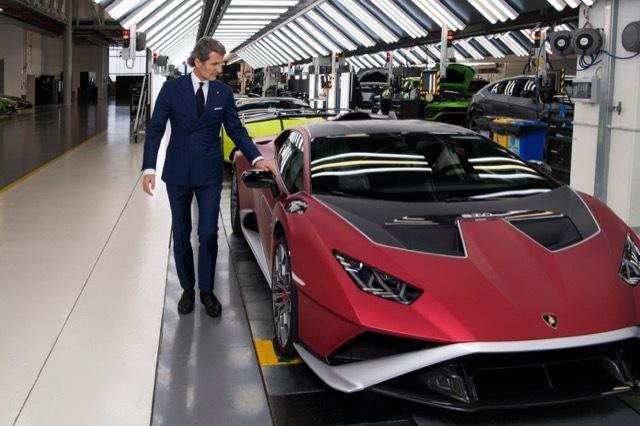 ランボルギーニ2021年生産分完売5 2021-6-12