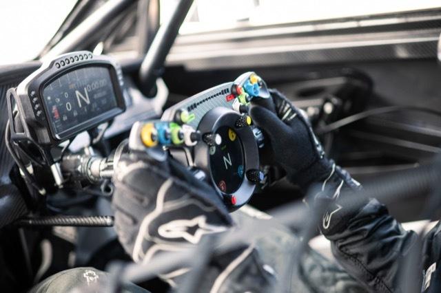 Bentley Fanatec GT3 Steering Wheel 1