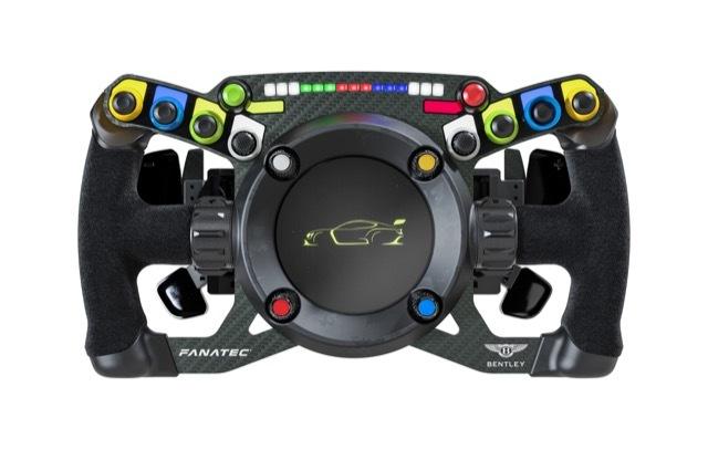 Bentley Fanatec GT3 Steering Wheel 3