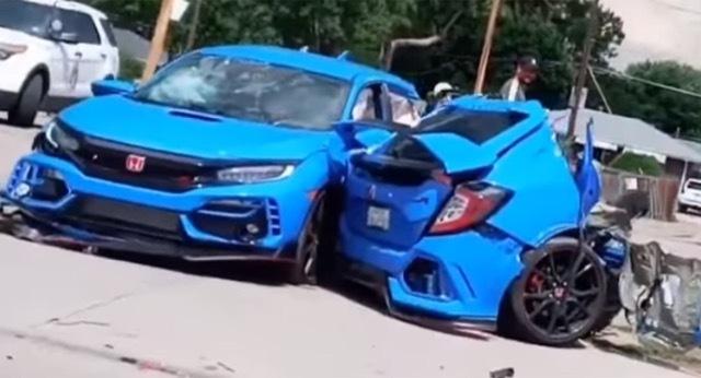 Honda-Civic-Type-R-Crash 2021-7-6