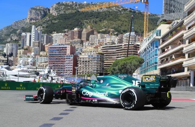 AMR21 2021 Monaco GP Free Practice 2021-7-6