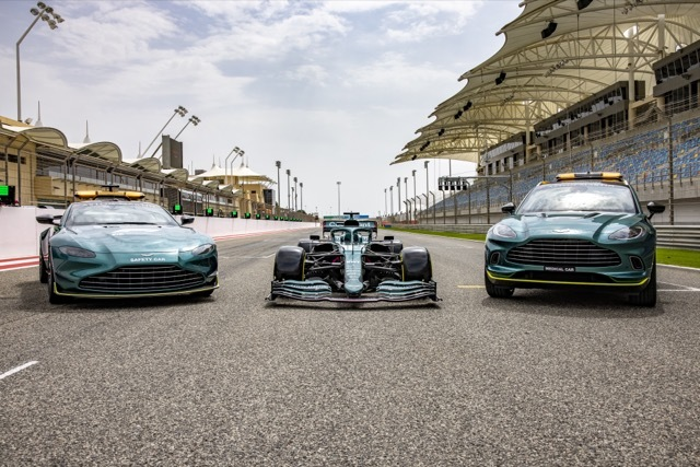 AMR21 and Aston Martin Safety and Medical Cars 2021-7-6