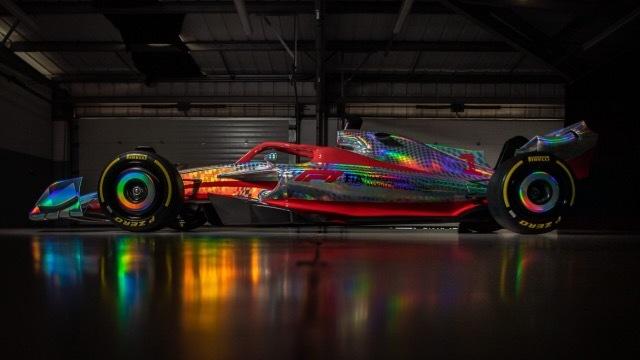 2022 F1マシン1 2021-7-16