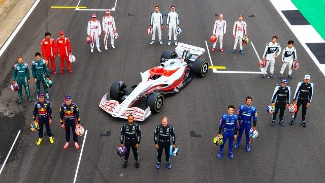2022 F1マシン7 2021-7-16