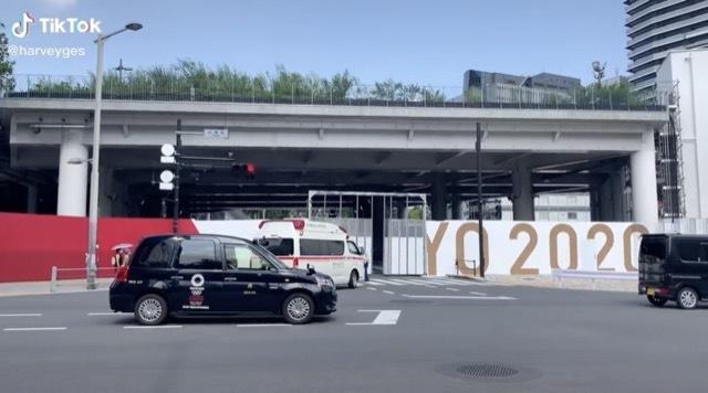 オリンピック救急車 2021-7-17