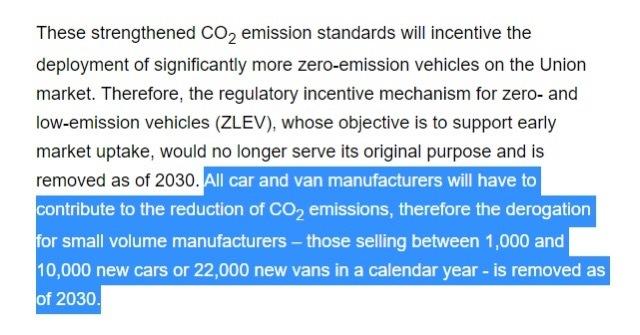 EU規制スーパーカー 2021-7-19