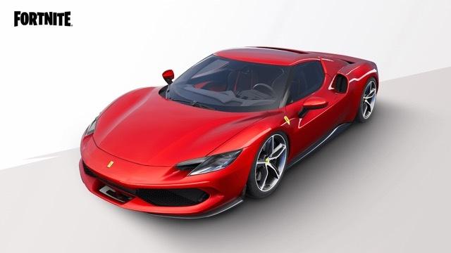 フェラーリ296GTBフォートナイト1 2021-7-23