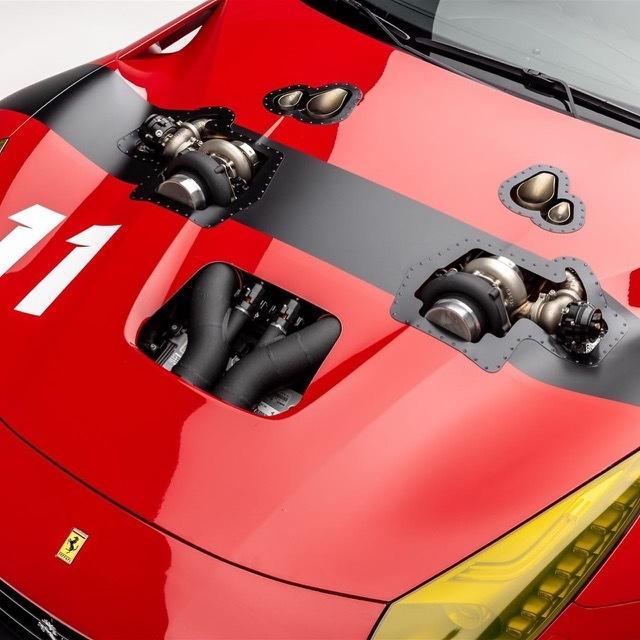 ツインターボフェラーリF122 2021-7-26