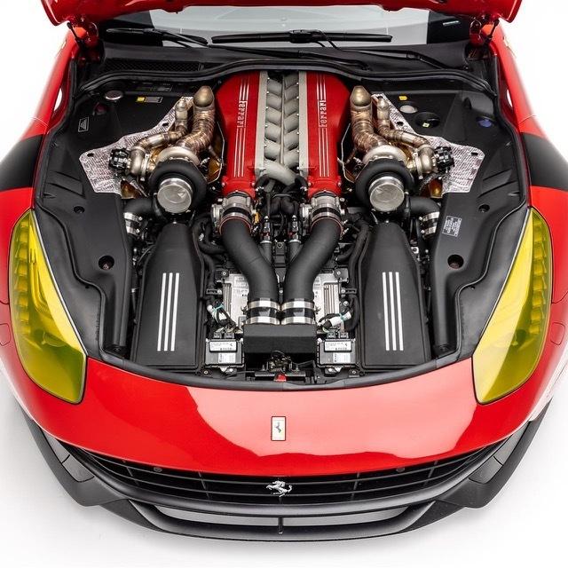 ツインターボフェラーリF123 2021-7-26