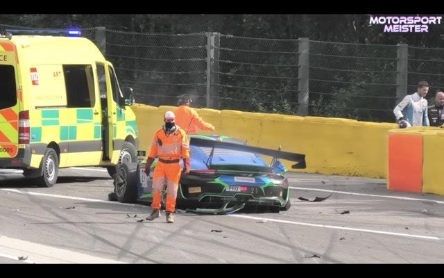 スパ24時間耐久レース事故5 2021-8-1