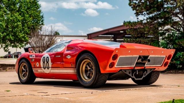 フォードVS フェラーリ GT40レプリカ3 2021-8-7