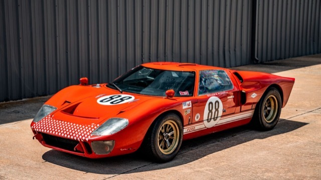 フォードVS フェラーリ GT40レプリカ6 2021-8-7