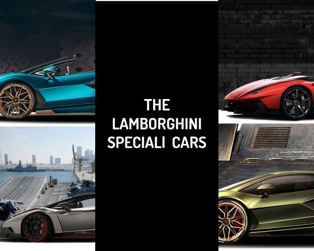 lamborgihini ONE OFF cars 2021-8-15